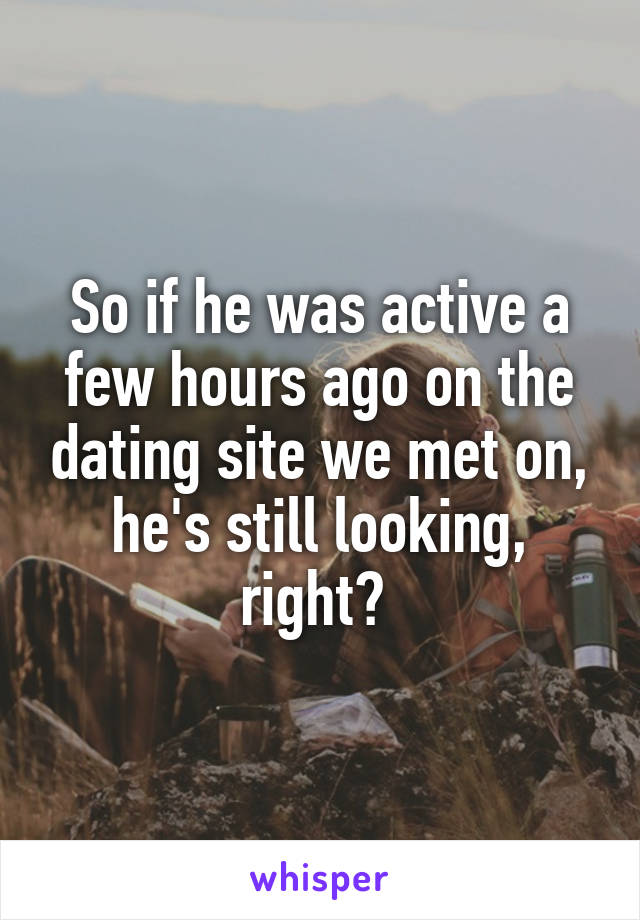 Dating a man 34 years older than me