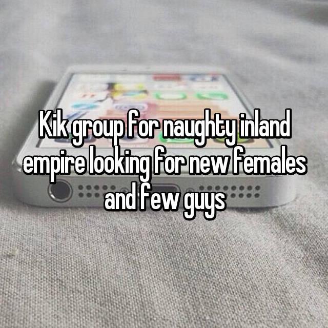 Inland empire kik groups