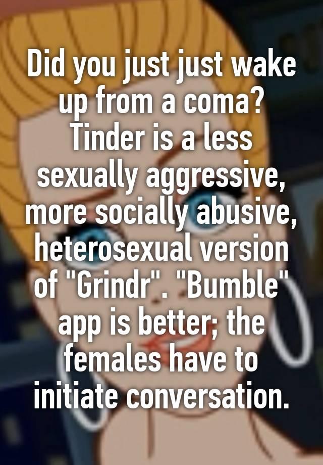 Aplicacion grindr heterosexual