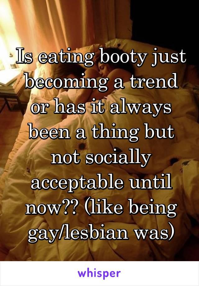 Lesbian how acceptable