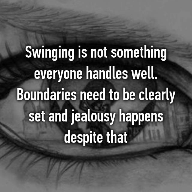 jealousy and swinging