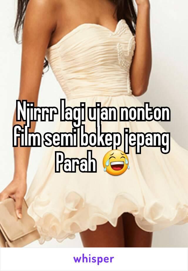 Njirrr lagi ujan nonton film semi bokep jepang Parah 😂