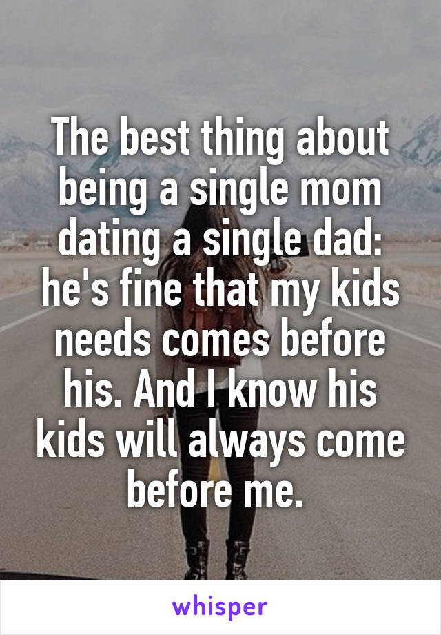 Dating single mom relationship advice