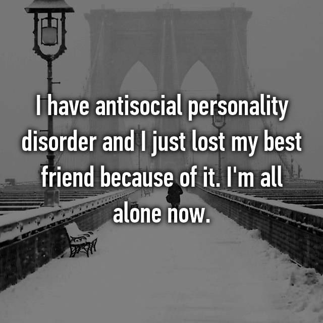 what makes someone antisocial