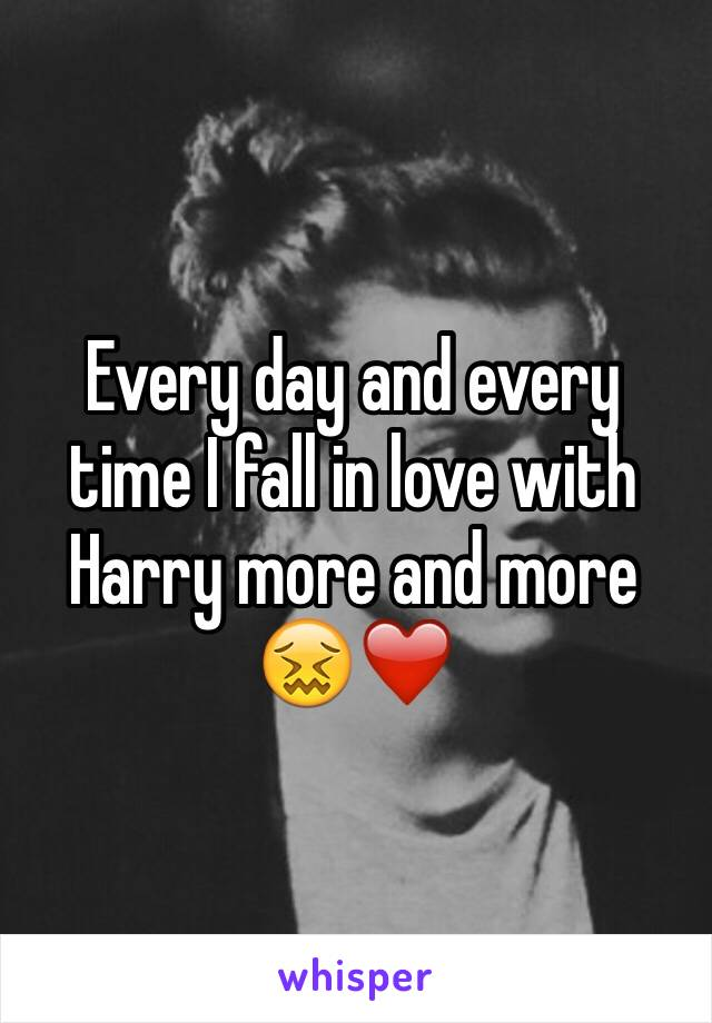 Every day and every time I fall in love with Harry more and more 😖❤️