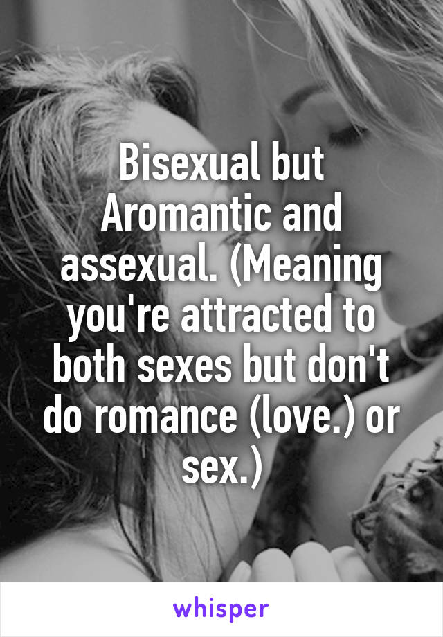assexual meaning