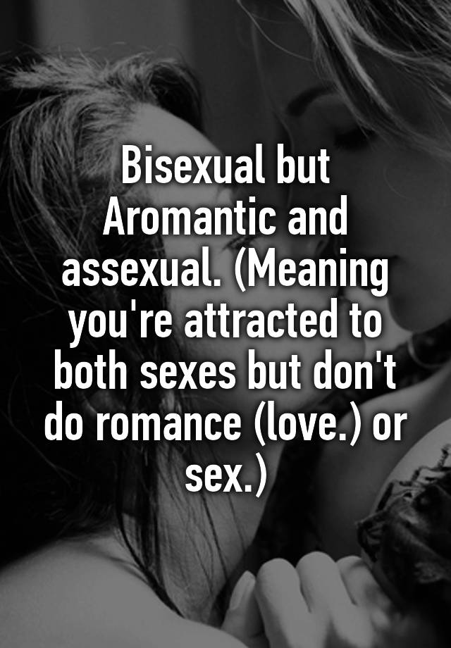 Assexuals meaning