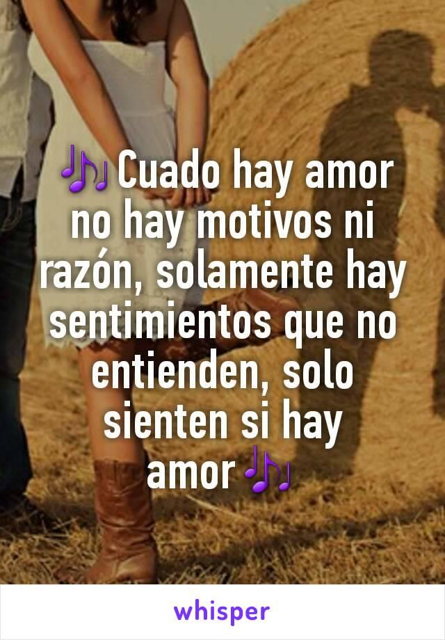 Cuado Hay Amor No Hay Motivos Ni Razon Solamente Hay Sentimientos Que No Entienden Solo