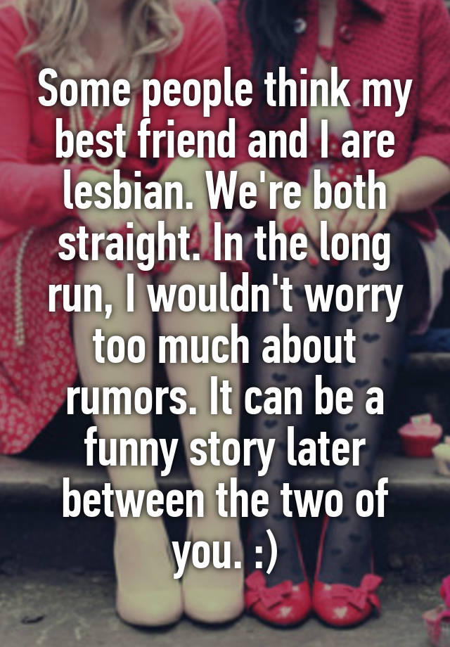 Lesbian best friend stories