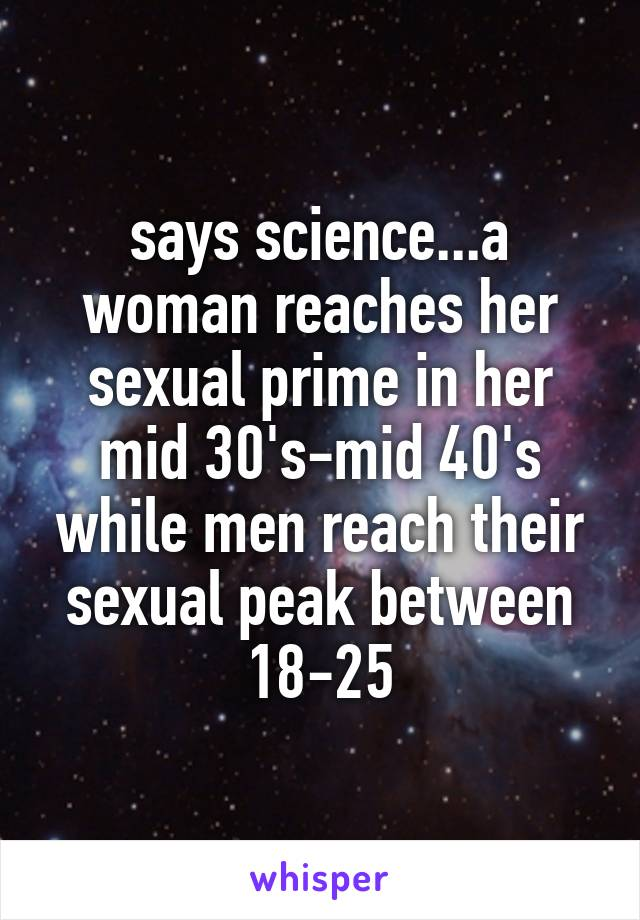Sexual Prime For Men