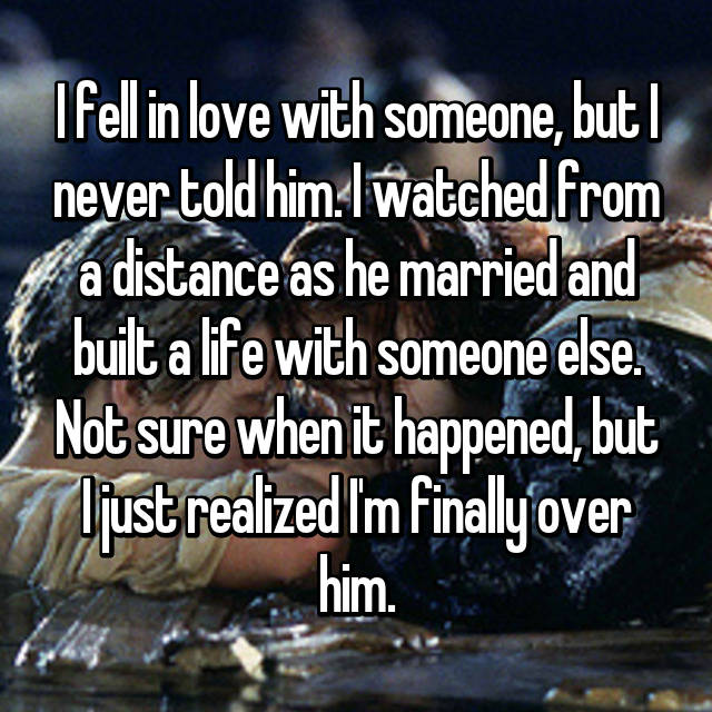 married in love with someone else