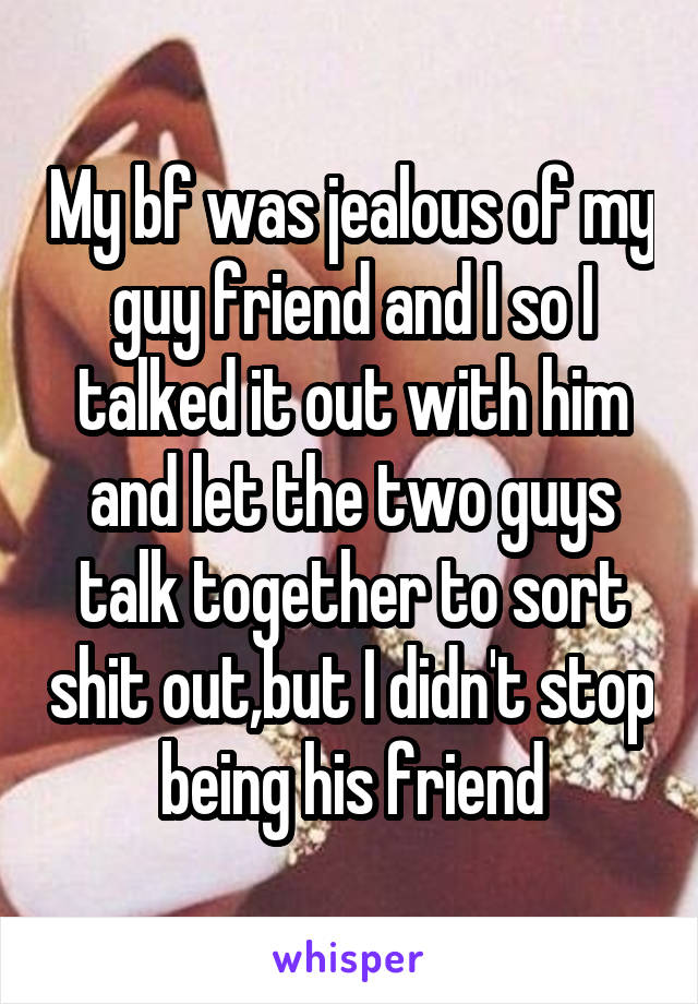 how can i stop being so jealous with my boyfriend