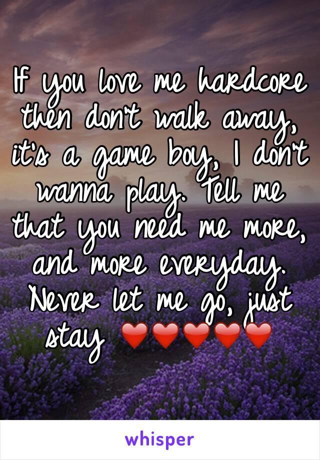 walk away me boy