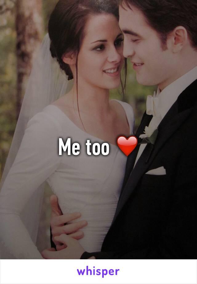Me too ❤️