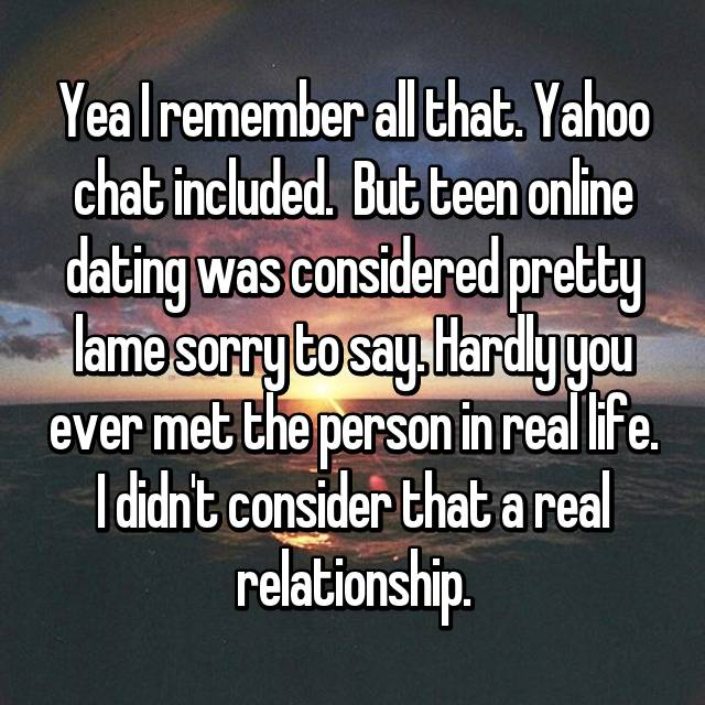 Teen say chat room