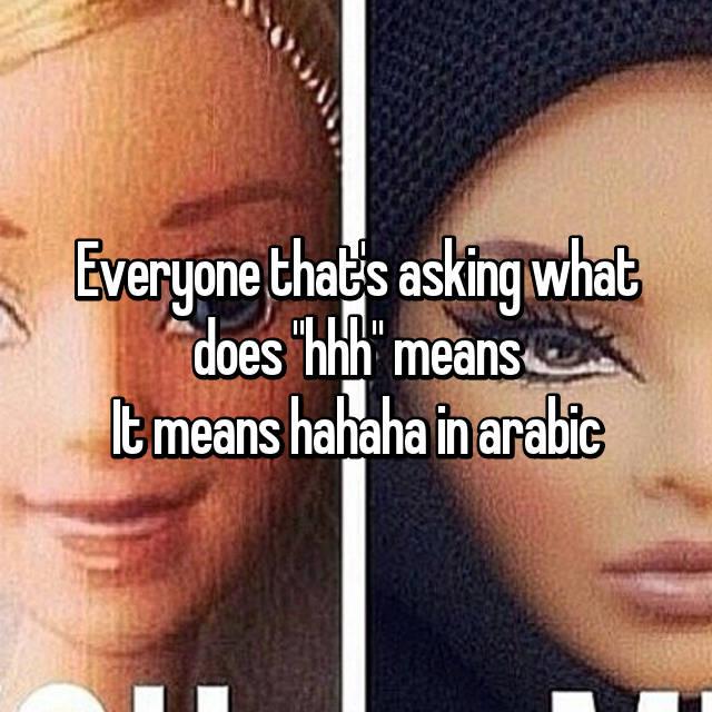 hahaha in arabic