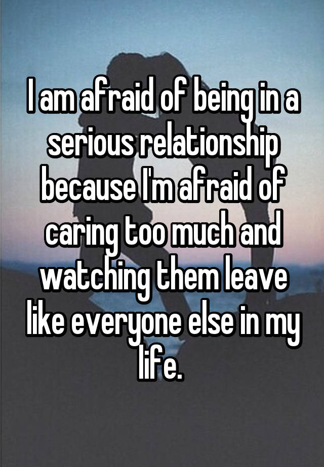 caring too much in a relationship