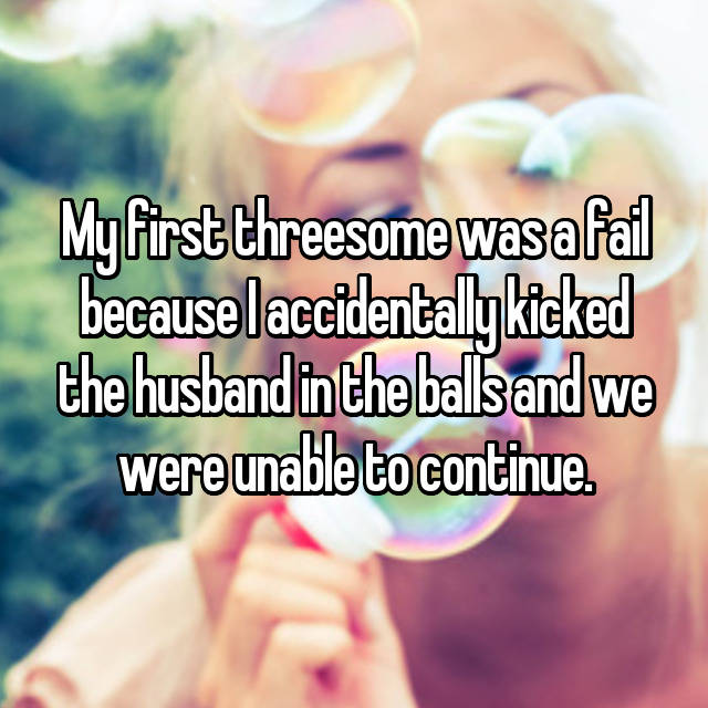Threesome wife confessions