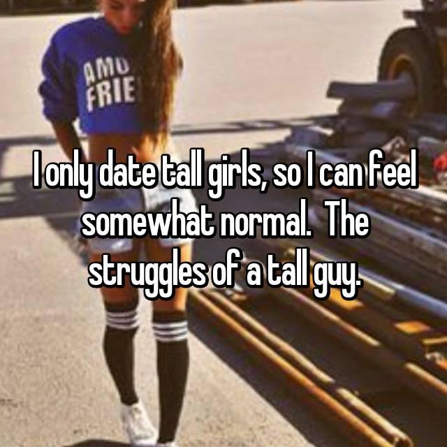 Where to meet tall guys