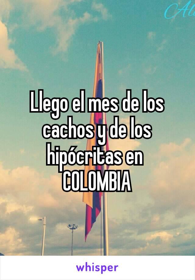 Llego el mes de los cachos y de los hipócritas en  COLOMBIA