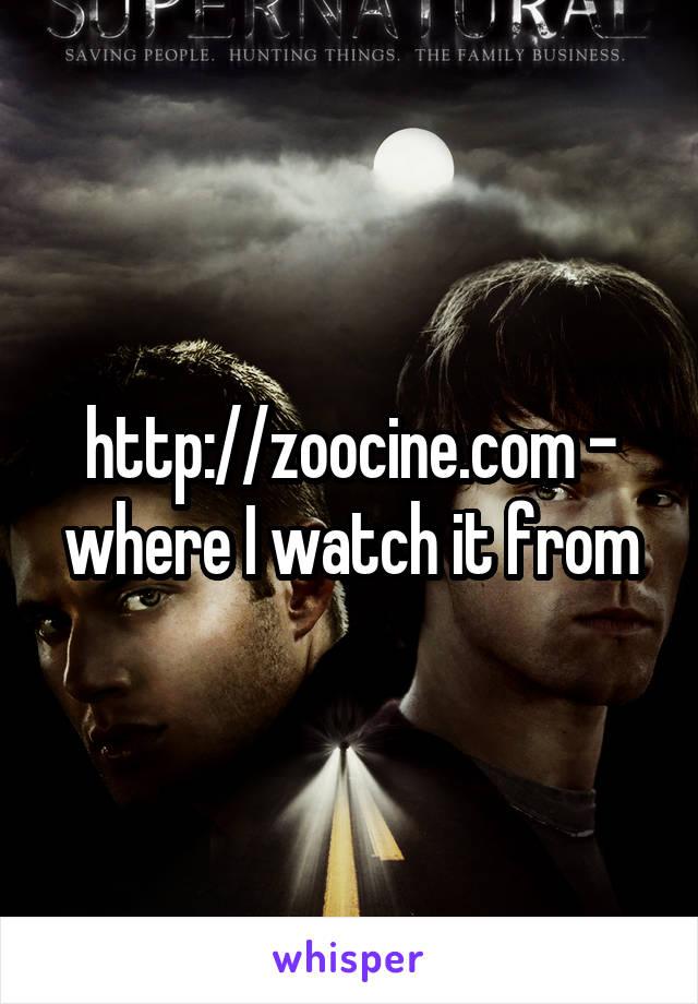 Zoocine