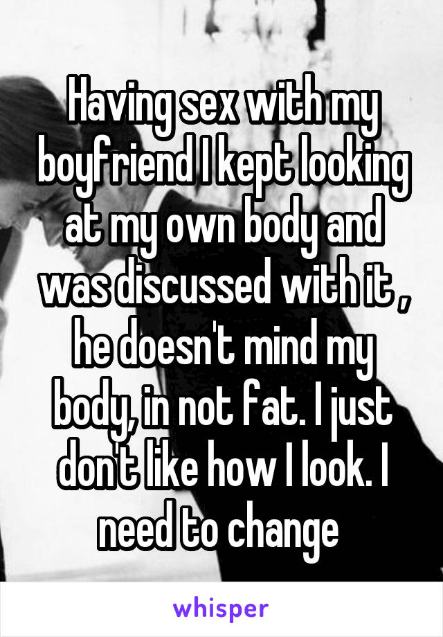 Why does he like sex with my fat body Seldom