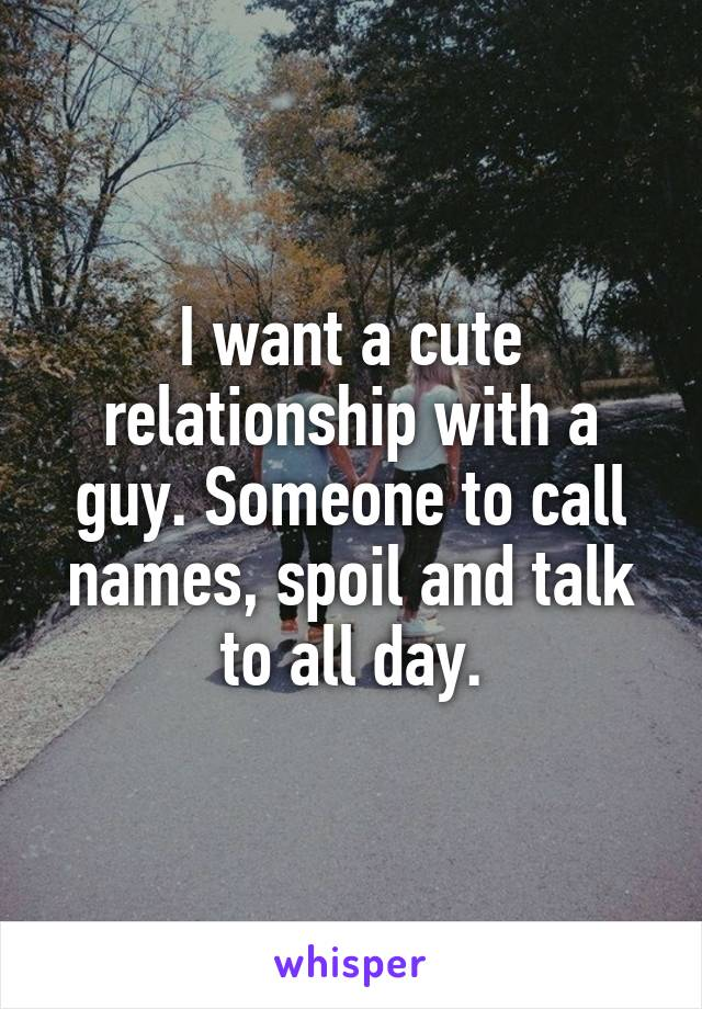 cute relationship names for guys
