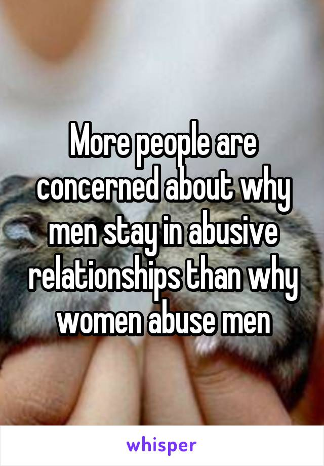 why men stay with controlling women
