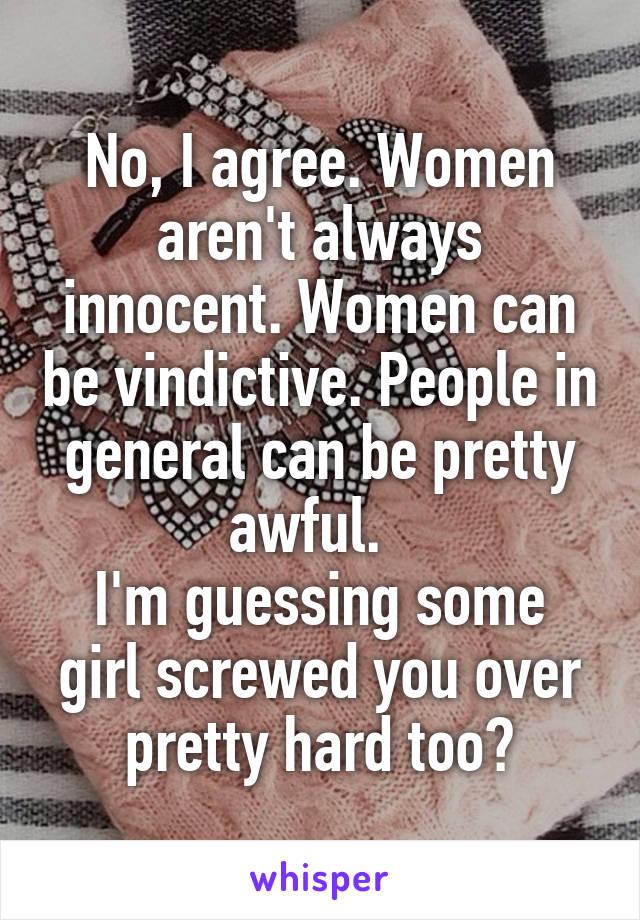 Vindictive women