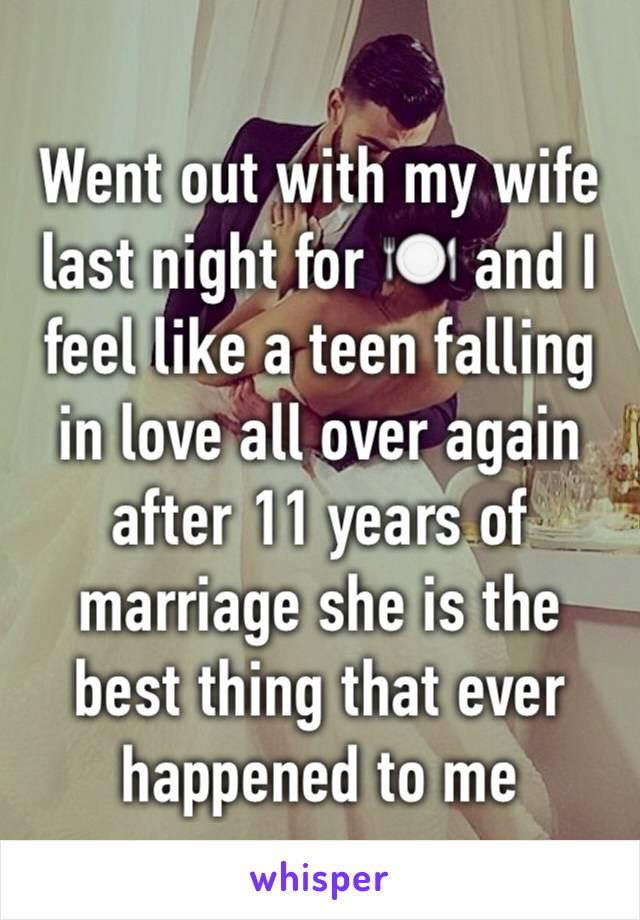 I Fell In Love Again Last Night
