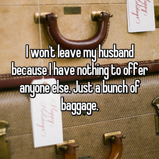 how to tell my husband i want to leave