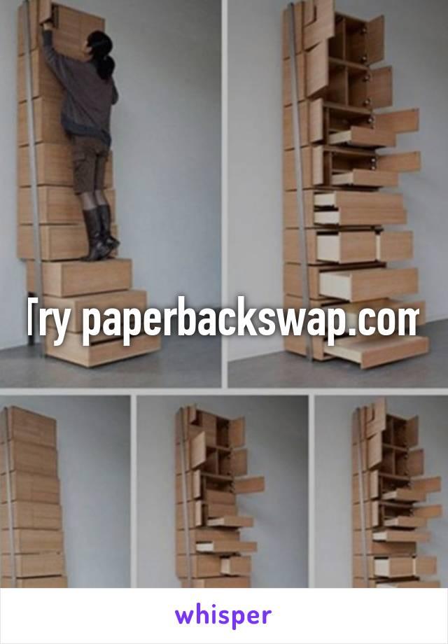 Try paperbackswap.com