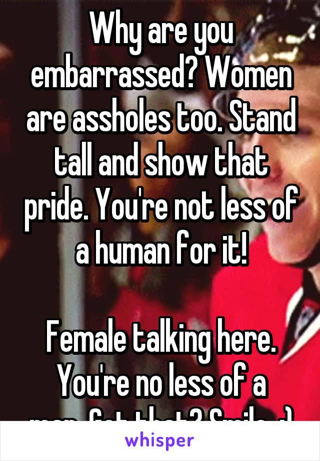 Showing assholes women How to