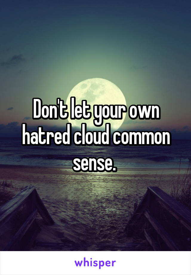 Common Sense on the Net and Cloud