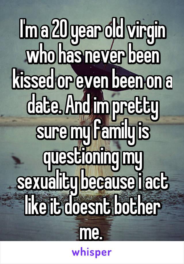 Dating 20 Year Old Virgin