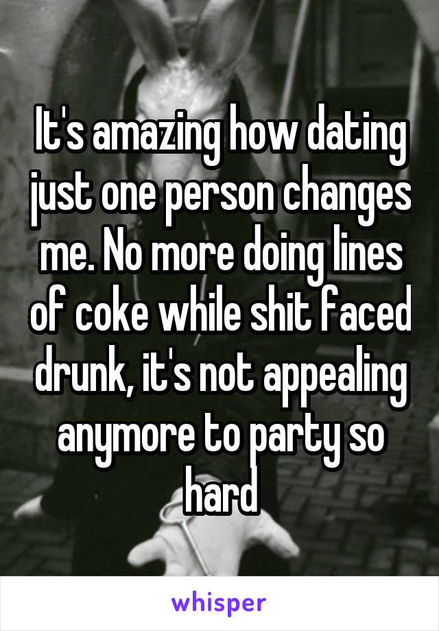 no more dating for me