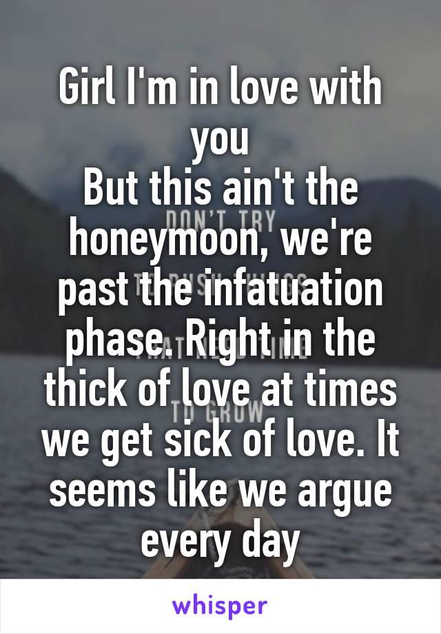 Infatuation phase