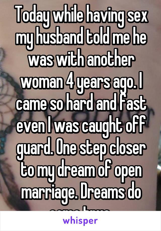 Having sex in my dreams