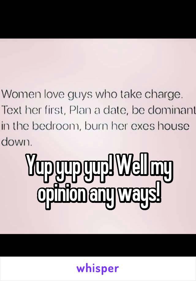 Yup yup yup! Well my opinion any ways!