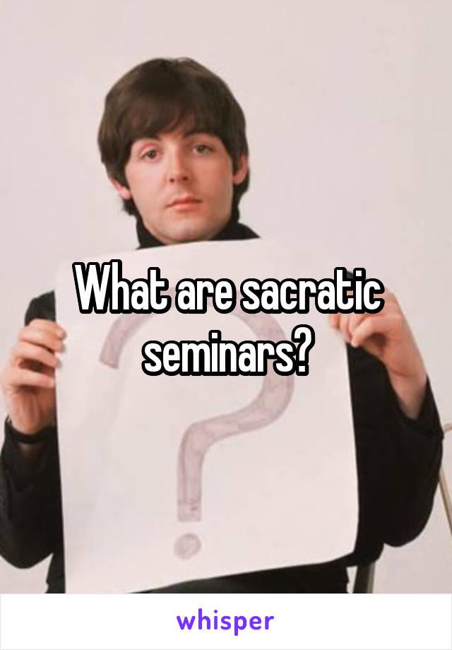 Sacratic