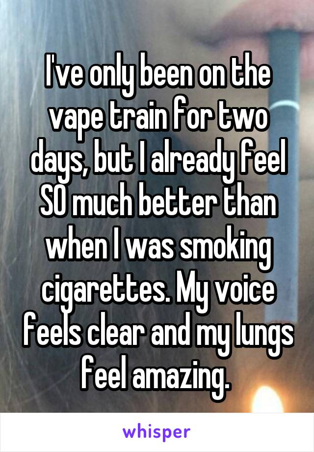 Forget Cigarettes  21 People Who Believe They're Healthier