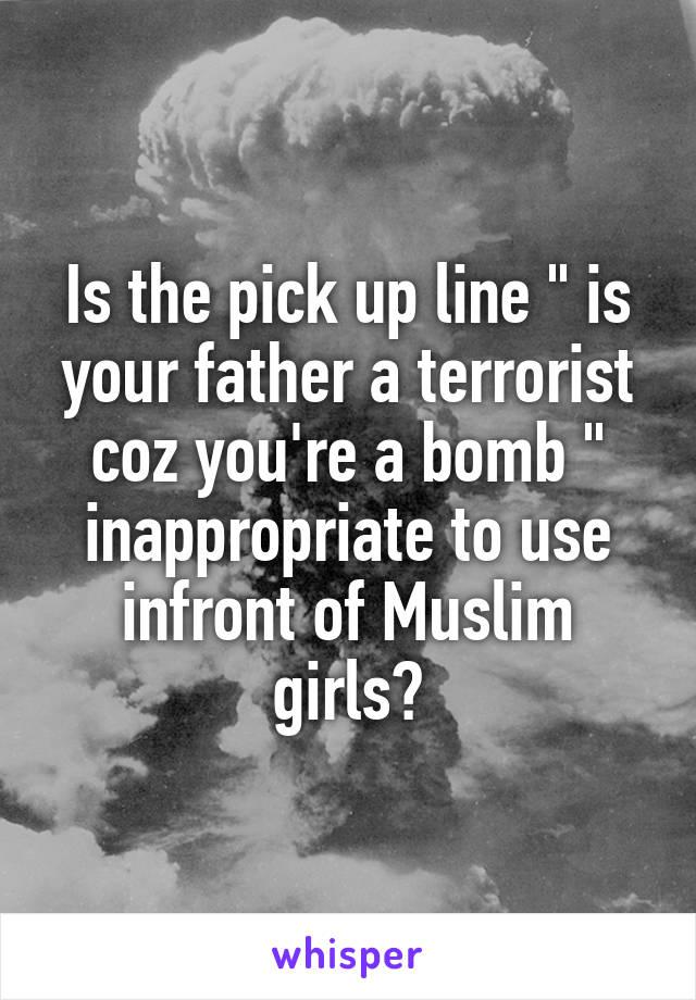 muslim pick up lines