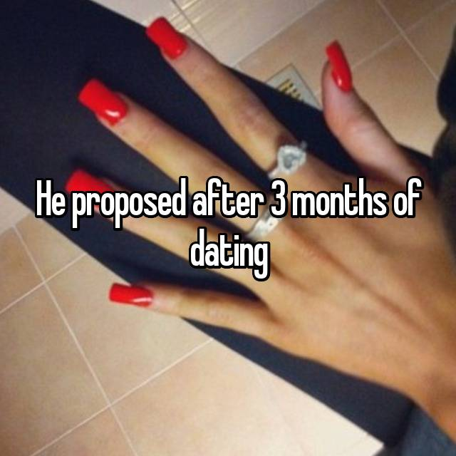 3 month relationship ended prematurely