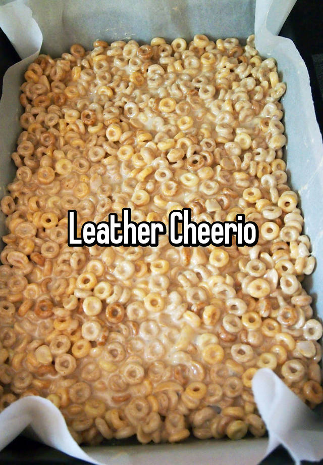 leather cheerio whisper