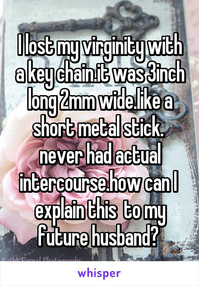 3 inch can lose virginity