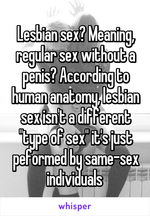 Different Human Penis