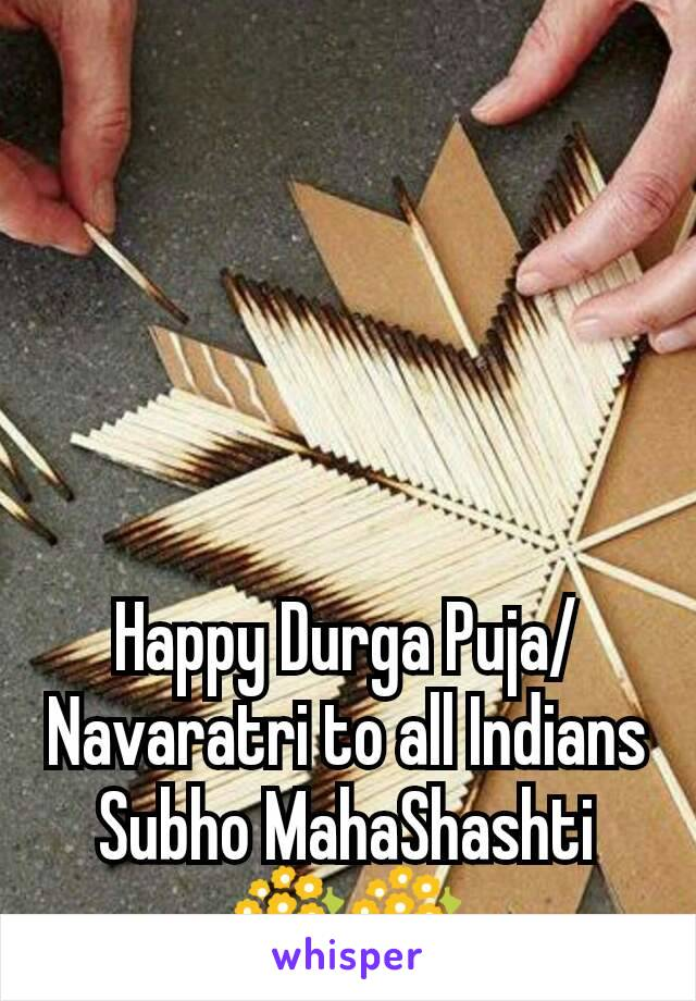 Happy Durga Puja/Navaratri to all Indians Subho MahaShashti 💐💐