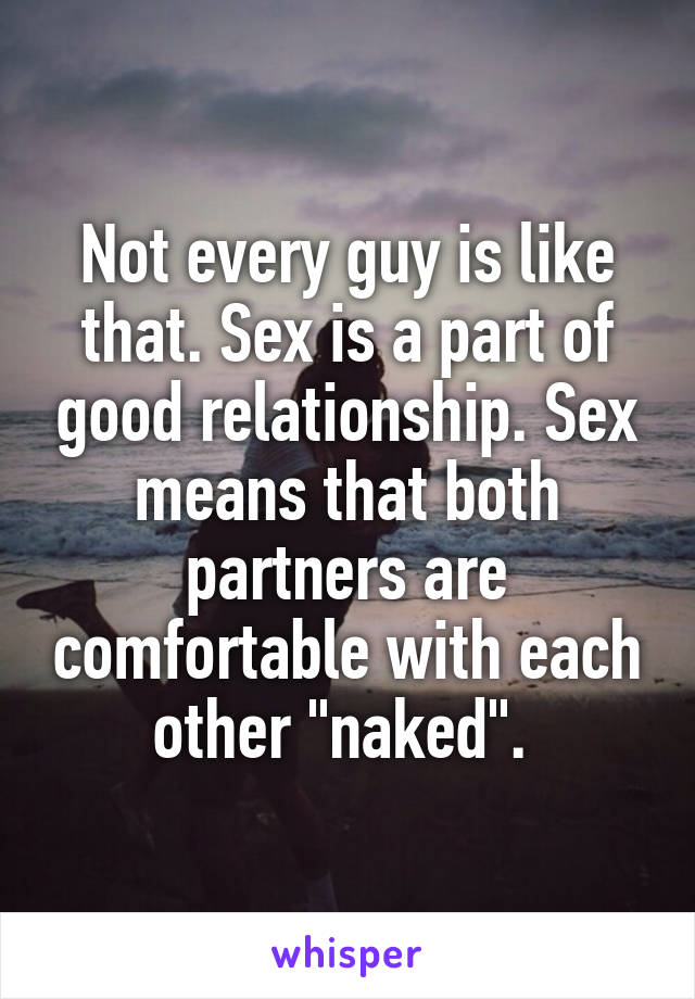 good sex in a relationship