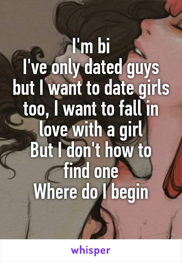 How to find bi girls