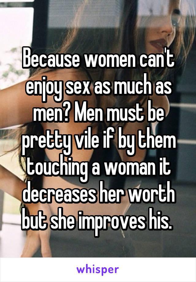Why cant i enjoy sex